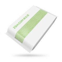 Полотенца - Хлопковое полотенце xiaomi 140x70, green, 0