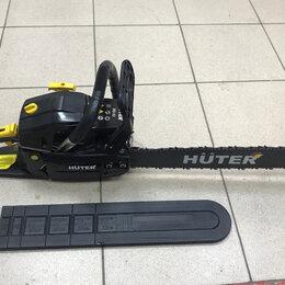 Электро- и бензопилы цепные - Цепная пила Huter BS-52, 0