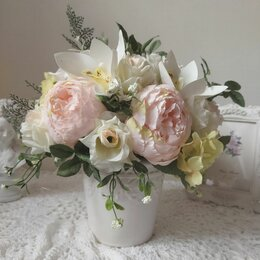 Цветы, букеты, композиции - Букет из искусственных цветов, 0