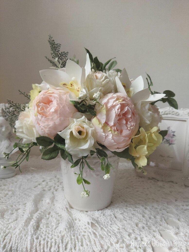 Букет из искусственных цветов по цене 3000₽ - Цветы, букеты, композиции, фото 0