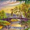 """Картины по номерам Paintboy """"Мост через реку"""" по цене 550₽ - Раскраски и роспись, фото 1"""