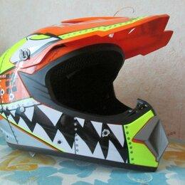 Шлемы - Кроссовый шлем pgr dot, 0