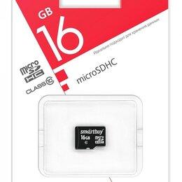 Карты памяти - Карта памяти MicroSDHC 16GB Smart Buy без SD адаптера, Class 10 (SB16GBSDCL10), 0