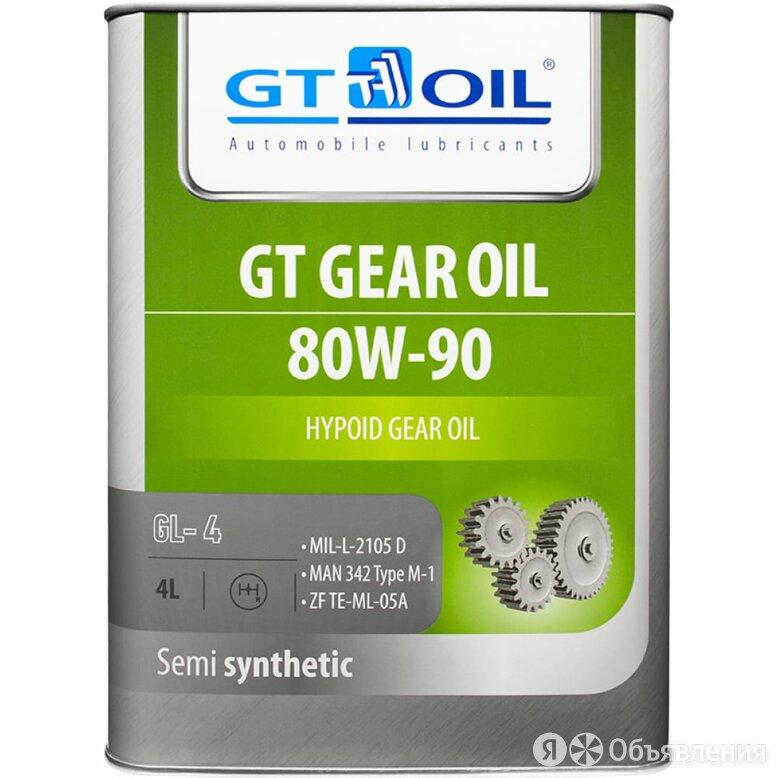 Масло GT OIL Gear Oil SAE 80W-90 API GL-4 по цене 1847₽ - Масла, технические жидкости и химия, фото 0