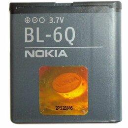 Аккумуляторы - Аккумулятор для Nokia 6700c (BL-6Q) 970mAh, 0