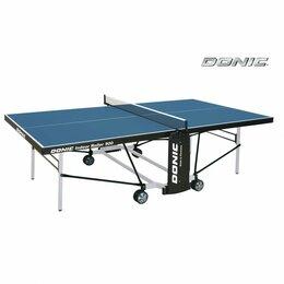 Столы - Теннисный стол Donic Indoor Roller 900 синий, 0