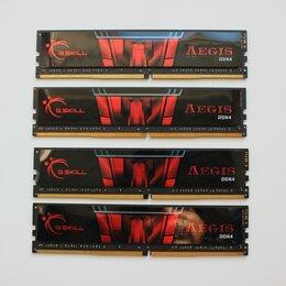 Модули памяти - Фирменные игровые комплекты DDR4 памяти 16 / 32 Гб, 0