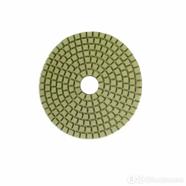 Гибкий шлифовальный алмазный круг для шлифовки с подачей воды MESSER 02-02-102 по цене 836₽ - Для шлифовальных машин, фото 0
