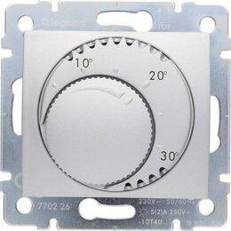 Отопительные системы - Термостат систем отопления Legrand Valena алюминий 770226, 0