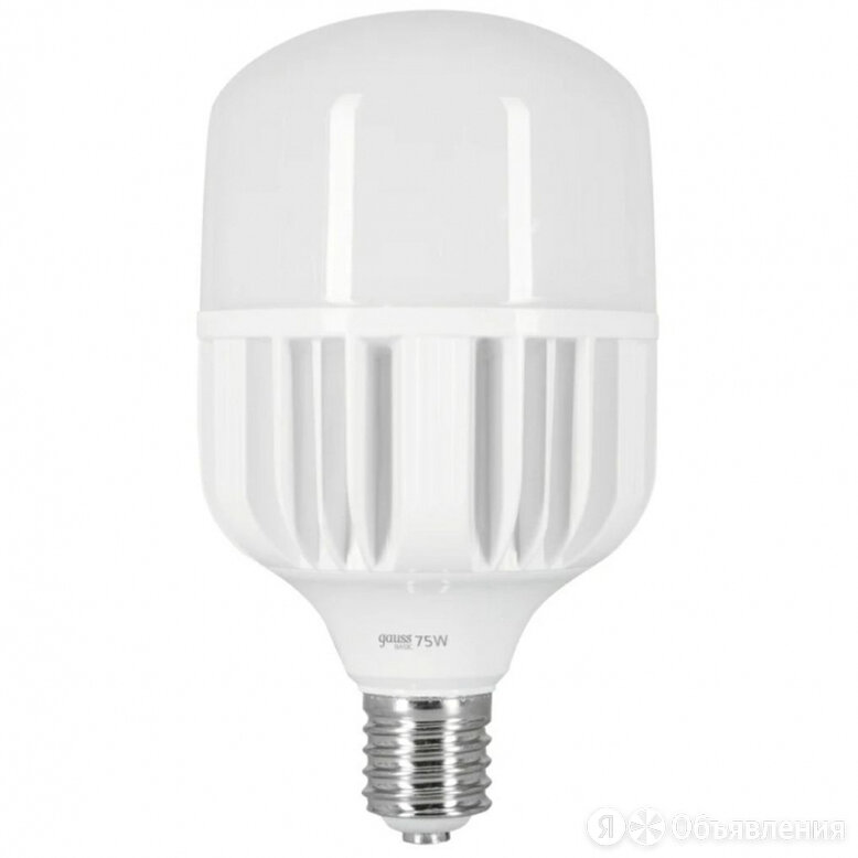 "Светодиодная лампа Gauss Basic ""BT140"" 75Вт 7130Лм Е40 6500К по цене 1349₽ - Лампочки, фото 0"