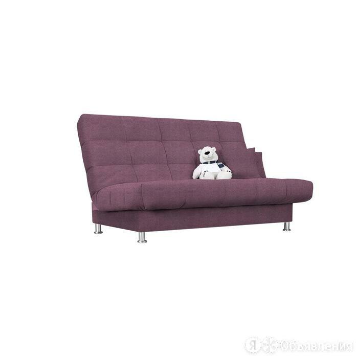 Диван «Идальго», с подушками, механизм книжка, ткань велюр, цвет shaggy lilac по цене 22788₽ - Мебель для кухни, фото 0