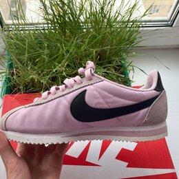 Кроссовки и кеды - Кроссовки Nike Cortez Nylon Pink , 0