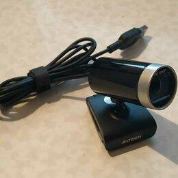 Веб-камеры - Web-камера A4Tech PK-910H черная FullHD USB, 0