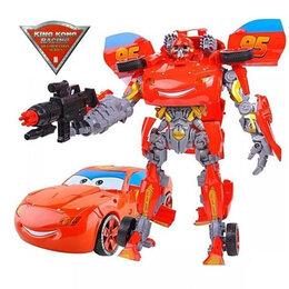 Роботы и трансформеры - Молния Маквин + робот Бамблби 2 в1 Трансформер, 0