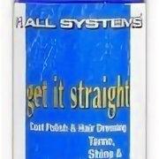 Маски и сыворотки - 1 ALL SYSTEMS GET IT STRAIGHT средство для блеска и выпрямления волоса 118 мл , 0