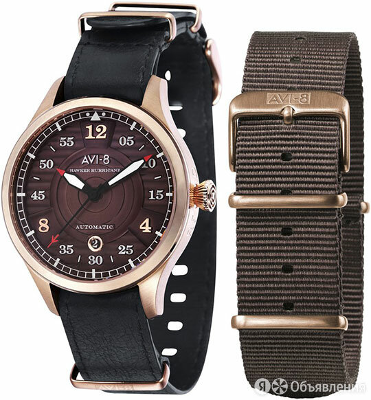 Наручные часы AVI-8 AV-4046-02 по цене 29770₽ - Умные часы и браслеты, фото 0