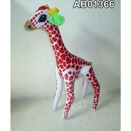 Рекламные конструкции и материалы - Надувная фигура Жираф красные пятна 36x60x15см, 0