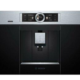 Кофеварки и кофемашины - Кофемашина встраиваемая Bosch Serie 8 CTL636ES6, 0