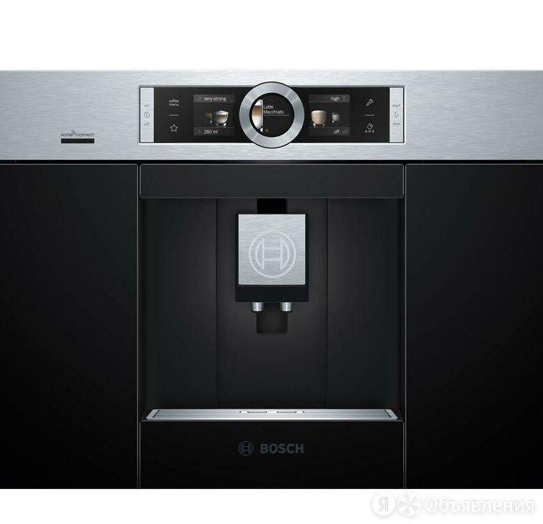 Кофемашина встраиваемая Bosch Serie 8 CTL636ES6 по цене 169900₽ - Кофеварки и кофемашины, фото 0
