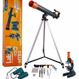 Телескопы - Набор Levenhuk LabZZ MTВ3: микроскоп, телескоп и бинокль, 0