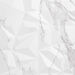 Плитка из керамогранита - Плитка из керамогранита Creto Декор Avenzo Crystal Silver W M/STR 30х90 R Glo..., 0