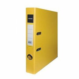 Контрольно-кассовая техника - Регистратор  55мм  PVC/PVC inФормат  Желтый, метал.окантовка/карман (50), 0