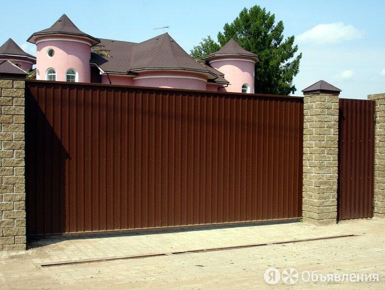 Откатные ворота по цене 50400₽ - Металлопрокат, фото 0