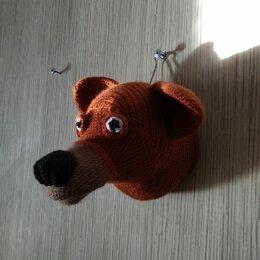 Рукоделие, поделки и сопутствующие товары - Голова медведя крючком, 0
