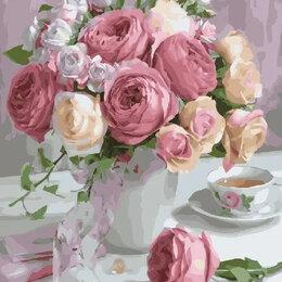 Раскраски и роспись - Картины по номерам Paintboy Букет нежных роз, 0