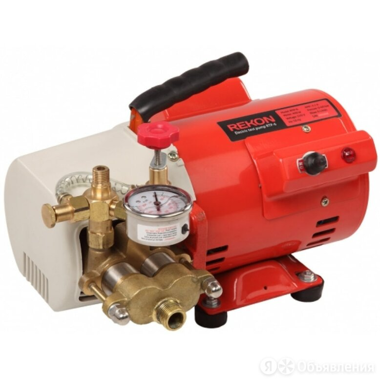 Электрический опрессовщик REKON RTP-6 по цене 33611₽ - Насосы и комплектующие, фото 0