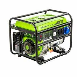 Электрогенераторы и станции - Генератор бензиновый БС-6500, 5,5 кВт, 230В, 4-х такт., 25 л, ручной стартер// С, 0