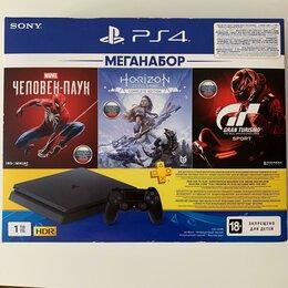 Игровые приставки - Sony PlayStation 4 Slim Ps4 на гарантии, 0