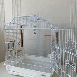 Клетки и домики - Новая клетка для попугая волнистого, 0