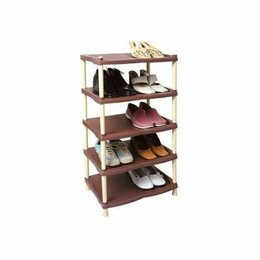 Обувницы - Полка для обуви САФИР 4 секции, 0