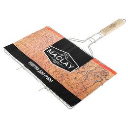 Решетки - Решётка-гриль для мяса Maclay, нержавеющая сталь, размер 42 x 25 см, 0