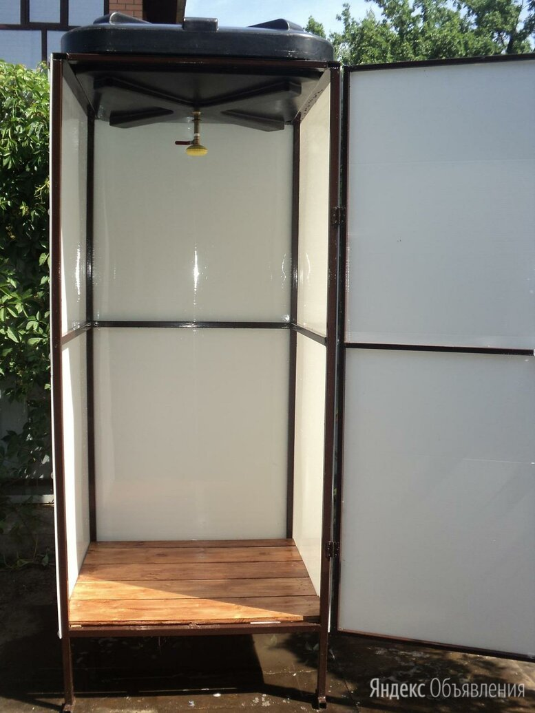 Душевые кабины для дачи из поликарбоната по цене 12800₽ - Души, фото 0