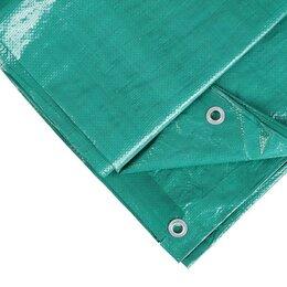 Тенты строительные - Тент утеплённый, 4 × 6 м, плотность 120 г/м², утеплитель изолон, синий, 0