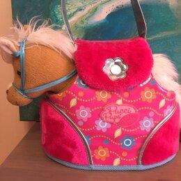 Мягкие игрушки - Пони с сумочкой и аксессуарами Pussi Pup от Battat, 0