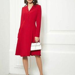 Платья - Платье 1856 AYZE красное Модель: 1856, 0