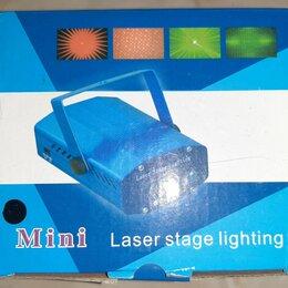 Прожекторы - Лазерный проектор Mini Laser Stage Lighting, 0