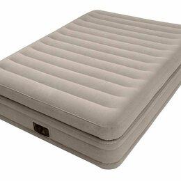 Надувная мебель - 64164 надувная кровать prime comfort elevated 152х203х51, 0