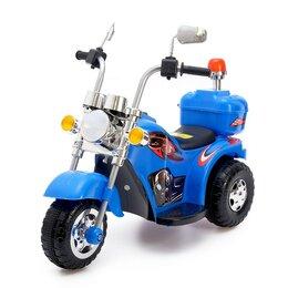 Электромобили - Электромобиль «Чоппер», цвет синий, 0
