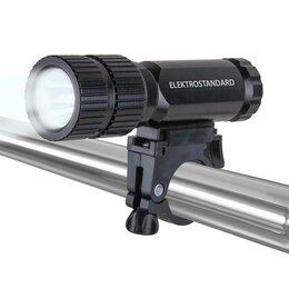 Фонари - Велосипедный светодиодный фонарь Elektrostandard Vector от батареек 120х36, 0