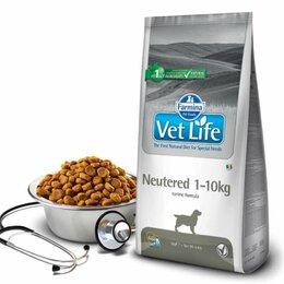 Корма  - FARMINA VetLife Neutered Сухой корм для стерилизованных собак весом до 10кг, 2кг, 0