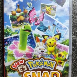 Игры для приставок и ПК - New pokemon snap для Nintendo switch, 0
