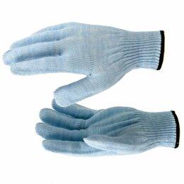 Одежда - Перчатки трикотажные, акрил, цвет зенит, оверлок Россия Сибртех, 0