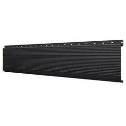 Стеновые панели - Линеарная потолочно-стеновая панель РИФЛЕНАЯ RAL9005 Черный Стальной Бархат, 0