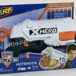 Игрушечное оружие и бластеры - Бластер с мягкими пулями Xhero. Доставка, 0