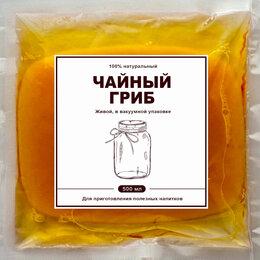 Ингредиенты для приготовления напитков - Чайный гриб живой в вакуумной упаковке, 0