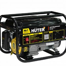 Электрогенераторы и станции - Электрогенератор DY3.0A Huter, 0